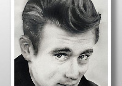 Portrait James Dean