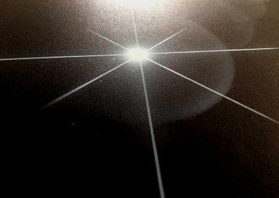 étoile en aérographie